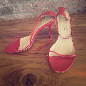 Colin Stuart ( Victoria's Secret) red sandals sz 8
